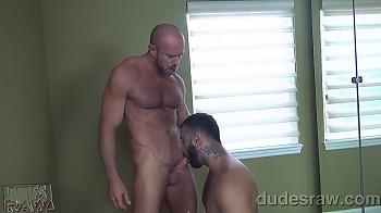 Sexy Muscle Sucks Cock And Cant Get Enough
